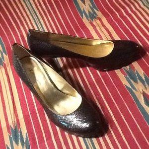 Anne Klein 3 1/2 in high heels black 9med